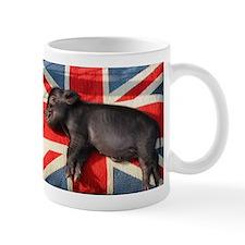 Micro pig chilling Small Mug