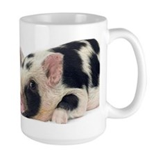 Micro pig chilling out Mug