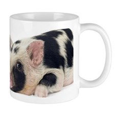 Micro pig chilling out Small Mug