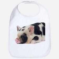 Micro pig chilling out Bib