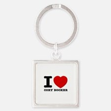 Political Designs Square Keychain