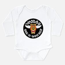 F-101 Voodoo Long Sleeve Infant Bodysuit