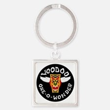 F-101 Voodoo Square Keychain