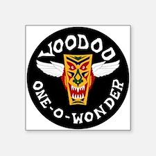 """F-101 Voodoo Square Sticker 3"""" x 3"""""""