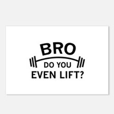Do You Even Lift? Postcards (Package of 8)