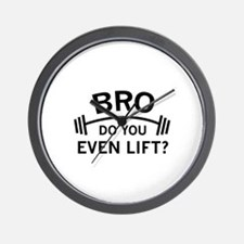 Do You Even Lift? Wall Clock