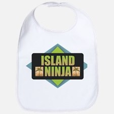 Island Ninja Baby Bib