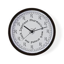 Inpatient Pharmacists Wall Clock