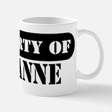 Property of Roxanne Small Small Mug