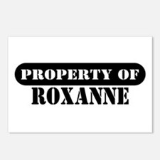 Property of Roxanne Postcards (Package of 8)