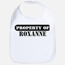 Property of Roxanne Bib