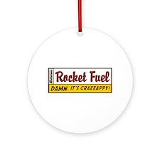 Rocket Fuel Ornament (Round)