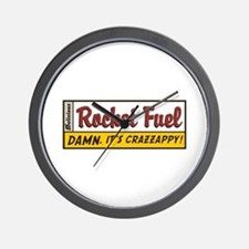 Rocket Fuel Wall Clock