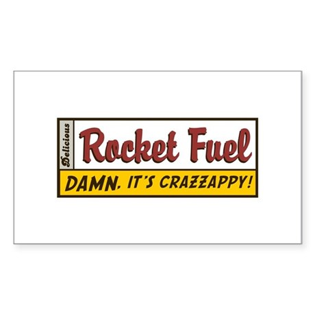 Rocket Fuel Rectangle Sticker
