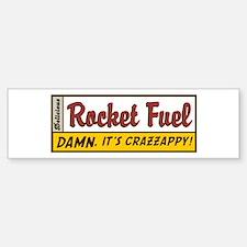 Rocket Fuel Bumper Car Car Sticker