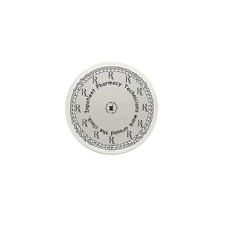 Inpatient Pharmacy Technician Mini Button (10 pack