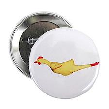 """Rubber Chicken 2.25"""" Button"""