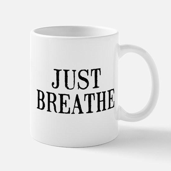 Just Breathe Small Mug