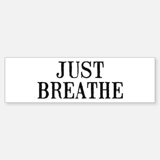 Just Breathe Sticker (Bumper)