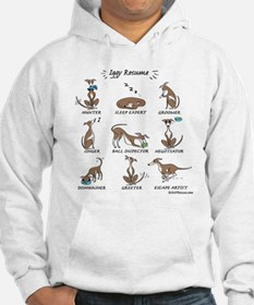 Iggy Resume / Italian Greyhound Resume Hoodie