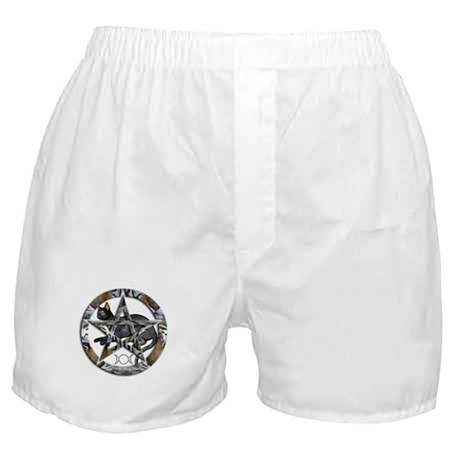 Wiccan - Witch Pentagram: Boxer Shorts