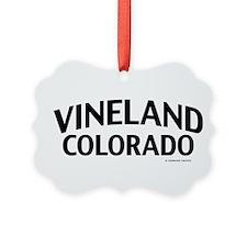 Vineland Colorado Ornament
