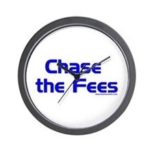 Chase The Fees Wall Clock