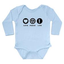 Amateur Radio Long Sleeve Infant Bodysuit