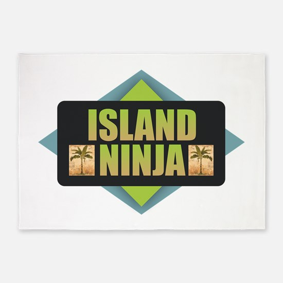 Island Ninja 5'x7'Area Rug
