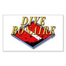 Dive Bonaire Rectangle Decal