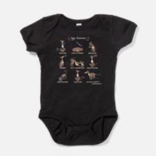 Iggy Resume (Dark) Baby Bodysuit