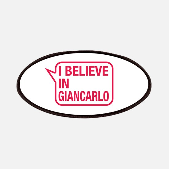 I Believe In Giancarlo Patches