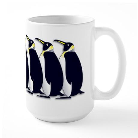 Penguins Large Mug