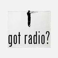 Amateur Radio Throw Blanket
