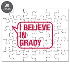 I Believe In Grady Puzzle