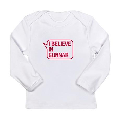 I Believe In Gunnar Long Sleeve T-Shirt