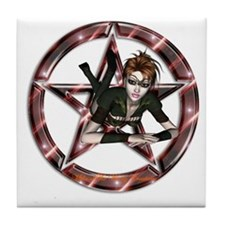 The Wiccan Chic Altar Paten Tile