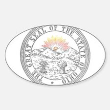 Vintage Ohio State Seal Decal