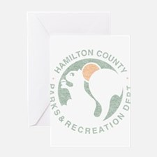 hamilton county parks.png Greeting Card