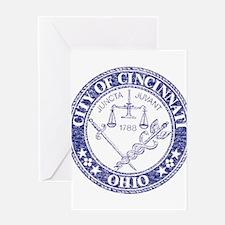 Vintage Cincinnati Seal Greeting Card