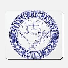 Vintage Cincinnati Seal Mousepad