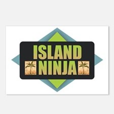 Island Ninja Postcards (Package of 8)