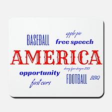 Celebrate America Mousepad