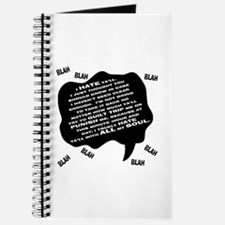 MJ Hate Text Journal