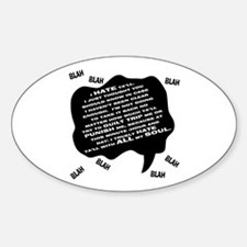 MJ Hate Text Decal