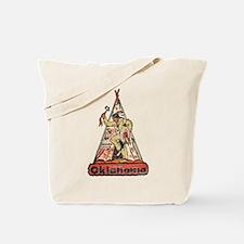 Vintage Oklahoma Indian Tote Bag
