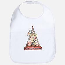 Vintage Oklahoma Indian Bib