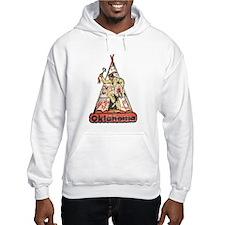 Vintage Oklahoma Indian Hoodie