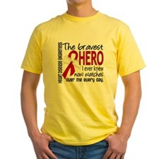 Bravest Hero I Knew Heart Disease T-Shirt