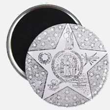 "Vintage Oklahoma State Seal 2.25"" Magnet (100 pack"